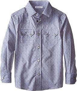 Jacquard Western Shirt (Toddler/Little Kids)
