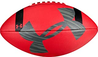 Under Armour 295 Composite Football, Red/Black/Grey, Junior Size