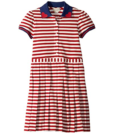 Gucci Kids Dress 552126XJALK (Big Kids) (Red/White/Multi) Girl