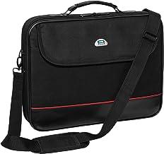 Pedea Laptoptasche Trendline Notebook-Tasche bis 20,1 Zoll 51 cm Innenfachdiagonale ca. 65cm Umhängetasche mit Schultergurt, Schwarz