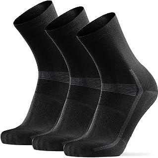 DANISH ENDURANCE Cycling Socks 3 Pack for Men & Women,...