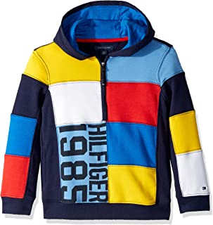 Boys' Adaptive Hoodie Sweatshirt with Extended Zipper Pull