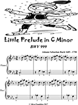 Little Prelude In C Minor Bwv 999 Easiest Piano Sheet Music Tadpole Edition