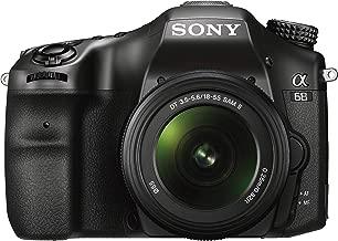 Sony a68 Translucent Mirror DSLR Camera w/ SAL18552 Lens