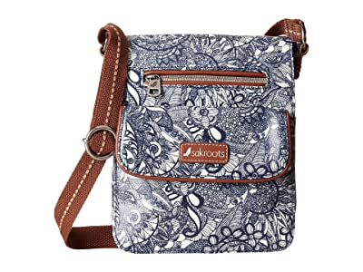 Sakroots Artist Circle Small Flap (Navy Spirit Desert) Cross Body Handbags