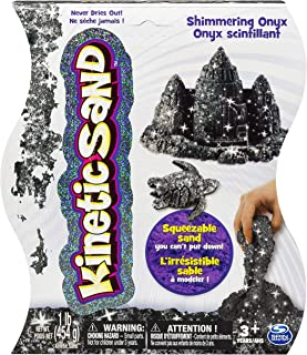 Kinetic Sand, 1Lb Shimmering Black Onyx Magic Sand for Ages 3 & Up
