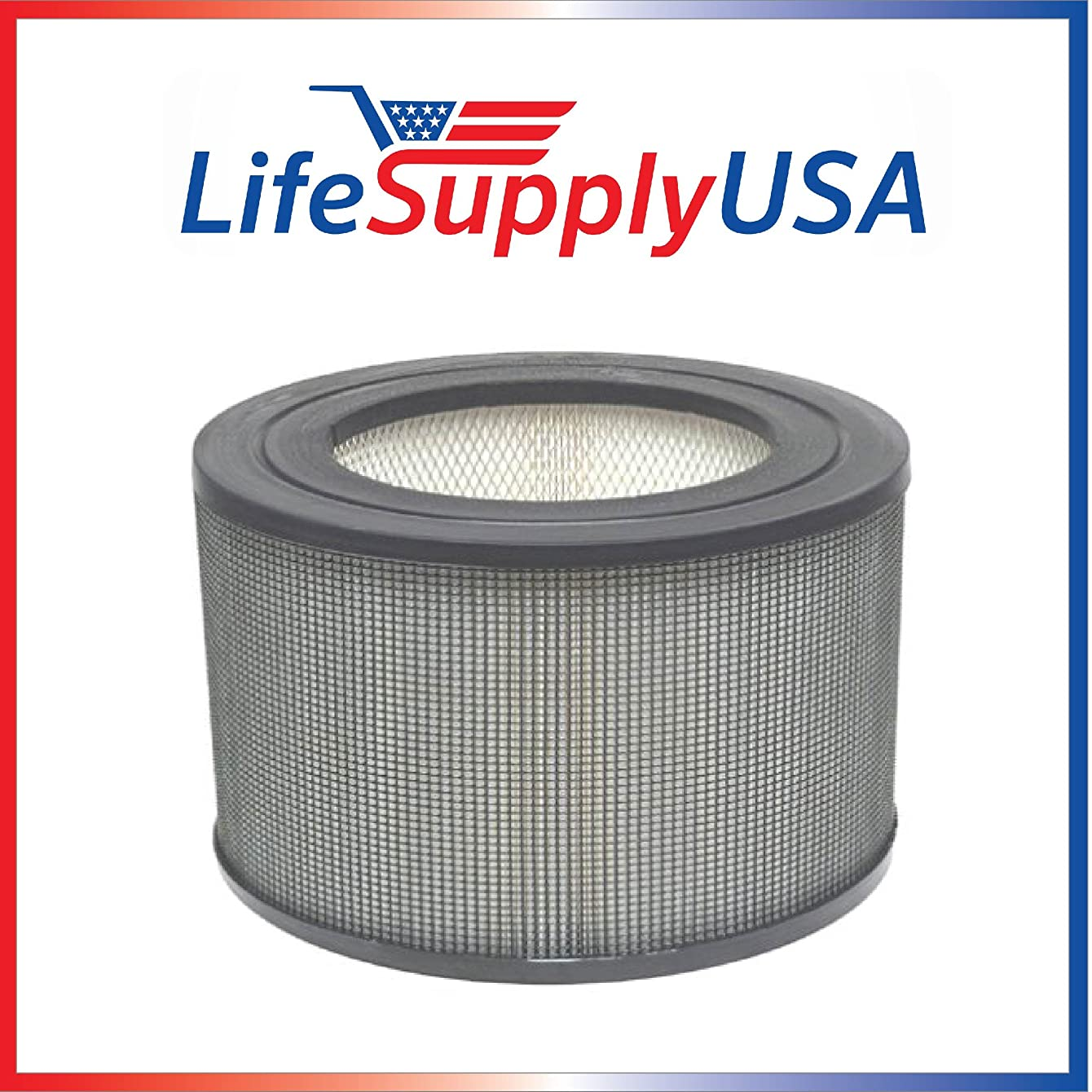 LifeSupplyUSA Replacement Filter for 21500/21600 Honeywell Air Purifier Replacement Filter