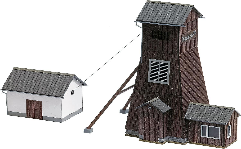Busch Save money 1476 Virginia Beach Mall Shaft Tower Power House HO Scale Stru Structure Model