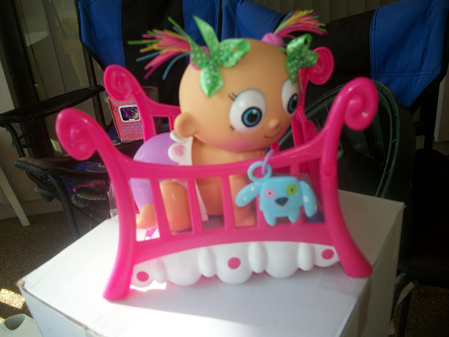 Dinge Babies Crazy Cute Princess Crib and Accessories
