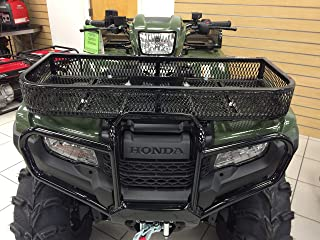 2014-2018 Rancher 420 and Foreman 500 Front Rack Gloss Black Finish By Strong Made 249