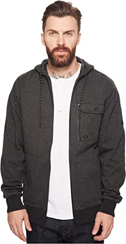 Billabong - Quadrant Fleece Furnace Zip Hoodie