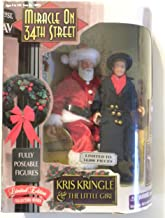 Miracle on 34th Street Fully Poseable Figures: Kris Kringle & The Little Girl