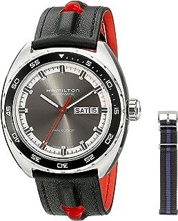 Hamilton - Reloj de Hombre H35415781 Timeless Class Analógico con Pantalla automática de Viento automático Gris