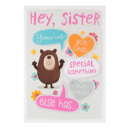 Hallmark Sister Birthday Card Special Something