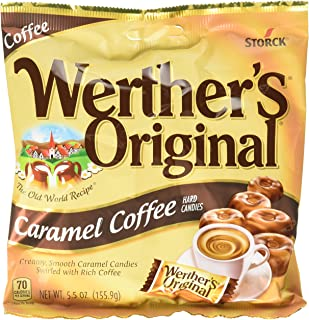 Werther's Original Caramel Coffee Hard Candies, 5.5 Ounce