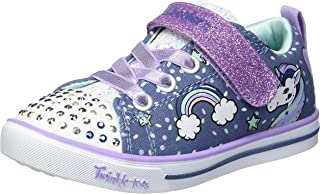 Skechers Kids' Sparkle Lite-Unicorn Craze Sneaker