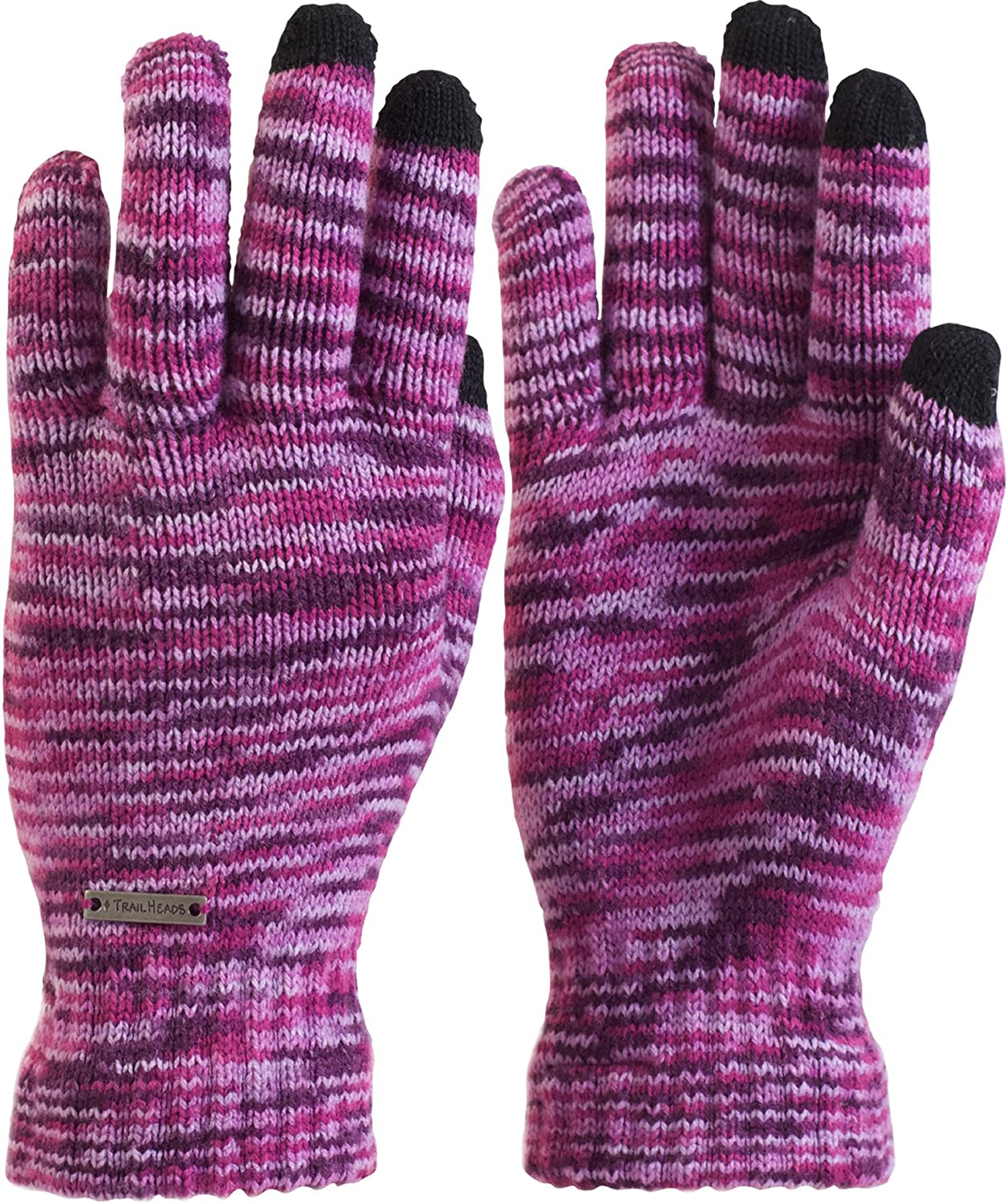 TrailHeads Women's Space Dye Knit Gloves Screen Spasm price Touch Max 82% OFF