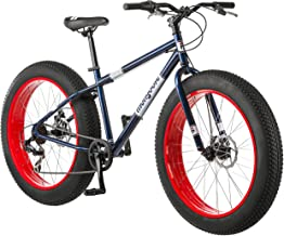 Mongoose Dolomite Fat Tire Mens Mountain Bike,17-Inch/Medium High-Tensile Steel Frame,..