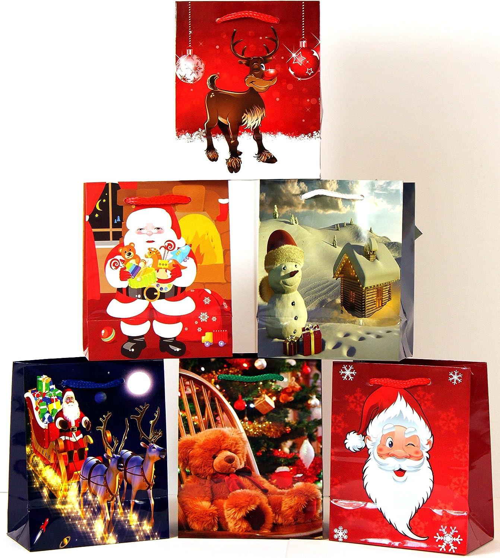 Geschenktüten Medium (Mittel) Weihnachtstasche Weihnachtstasche Weihnachtstasche Weihnachtsbeutel Beutel Geschenktaschen Weihnachten 748 (96 Stück) B00N3TIYSK | Hervorragende Eigenschaften  114539