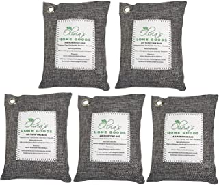 OLIVIA & AIDEN 5 Pack – Large 200g Bags – Activated Bamboo Charcoal All..