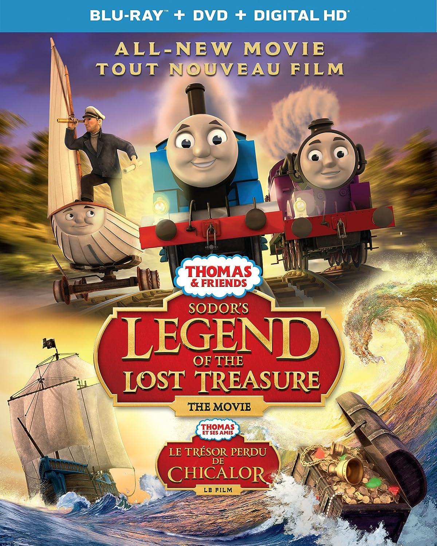 Thomas Friends: Sodor's Legend Of New arrival Movie Treasure Blu-ray Lost half