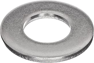 18-8 Stainless Steel Round Shim, Unpolished (Mill) Finish, Annealed, Hard Temper, ASTM A666, 0.075