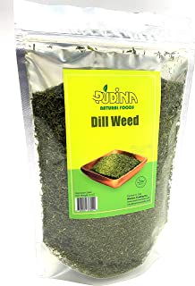 Pudina, Dried Dill Weed (6 oz), Premium Quality, Natural, Great for Pickling, Vibrant Green Color, Extremely Flavorful, 6 oz.