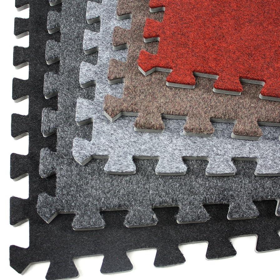 IncStores Eco-Soft Carpet Foam Tiles (Black - 25 Tiles) zuazpqibxo65