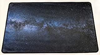Nature Stitched Edge Galaxy Playmat for Card Games, Workstations, Office Accessories - Great for Nature Lovers, Gaming, Tabletops, Cubicles