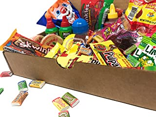 Best Sellers Mexican Candy Assortment Box Gift Set (Includes Popular Choices from Vero, De La Rosa, Lucas, Lorena Pelon, Anahuac, Candy Pop, Diana, Indy, Jovy, Canels and Ricolino)