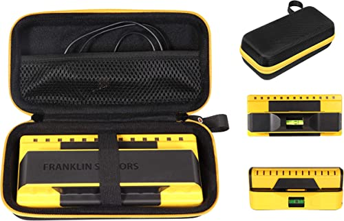 wholesale getgear Stud Sensor Case compatible with Franklin ProSensor 710, 710+, T13 mesh online sale pocket for other accessories, Contrast orange color to match your sensor, lowest Easy to hold strap outlet online sale