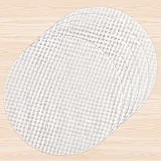 Goldlion Dehydrator Sheets 5 Pack Non-stick Silicone Dehydrating Mats Compatible with Ninja Foodi 6.5 and 8 Quart Round 7....
