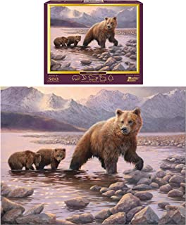 Grizzly Family 500-Piece Puzzle