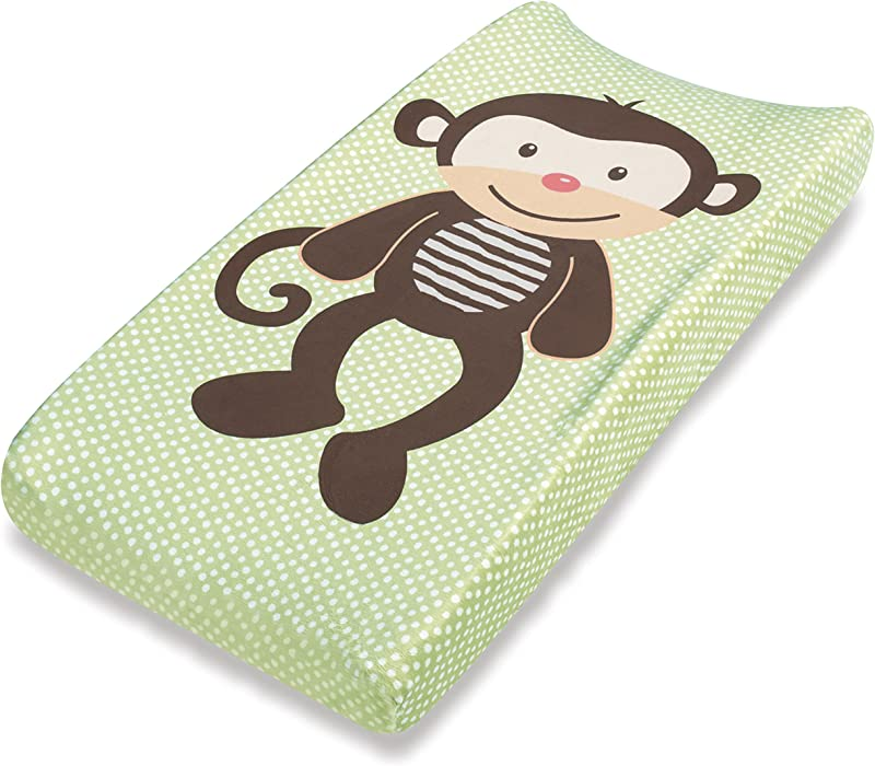 Summer Infant Ultra Plush Character Changing Pad Cover Monkey