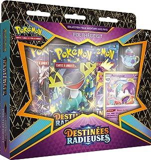 Pokémon EB04.5 Pin's-Destinées Radieuses-Polthégeist ou Sapereau (Modèle aléatoire) -Jeu de Cartes à Collectionner-Sets et...