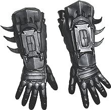 Rubie's Men's Arkham City Deluxe Batman Gloves, Black, One Size