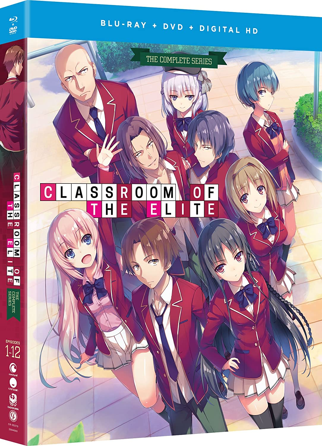 Popular products Classroom of the Elite: Series The Blu-ray Complete OFFer