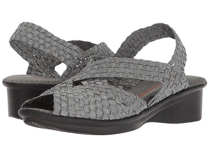 bernie mev.  Kira (Pewter) Womens Sandals