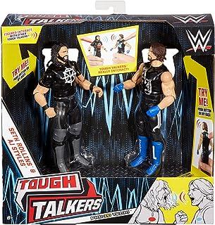 WWE Tough Talkers Seth Rollins & AJ Styles Figure, 2 Pack