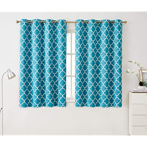 Teal Curtains for Bedroom: Amazon.com