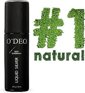 Natural Deodorant Spray for Men – Men's Organic Dedorant - Natural Deodorant – Natural Deodorant Men- Aluminum Free Deodorant – Mineral Deoderants for Men - Healthy Unscented for Sensitive Skin