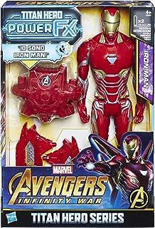 Hasbro Marvel Avengers Infinity War Iron Spider Titan Hero Power FX (Personaje Action Figure), 30cm, e0606103