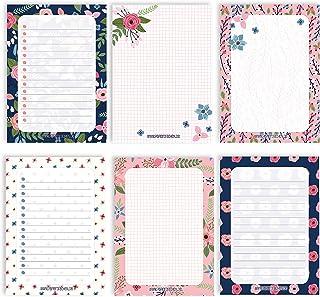 6 notatników pustych do swobodnego projektowania | na spotkania, projekty, listy rzeczy do zrobienia, spotkania, listy zak...