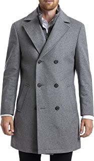 CHAPS Men's Classic Double-breasted Coat