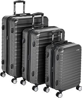 AmazonBasics Premium Hardside Spinner Suitcase Luggage with Built-In TSA Lock and Wheels
