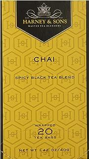 Harney & Sons Premium Chai Black Tea, 20 Tea Bags