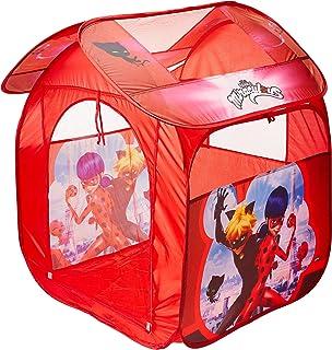 Barraca Portátil Casa Ladybug Mimo Style Vermelho