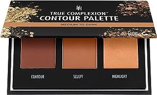 Black Radiance True Complexion Contour Palette, Medium to Dark, 0. 38 Ounce