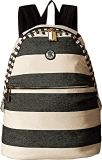 Tommy Hilfiger Women's Back to School-Backpack, Black/Natural, One Size