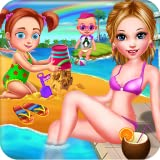 Sommer Strand Familie Ferien Familienurlaub - Fun Entertaining Game for Kids and Parents to play!